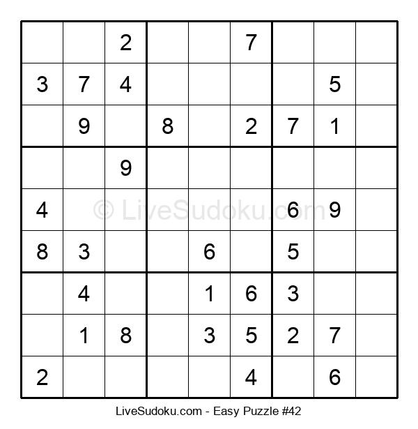 Beginners Puzzle #42