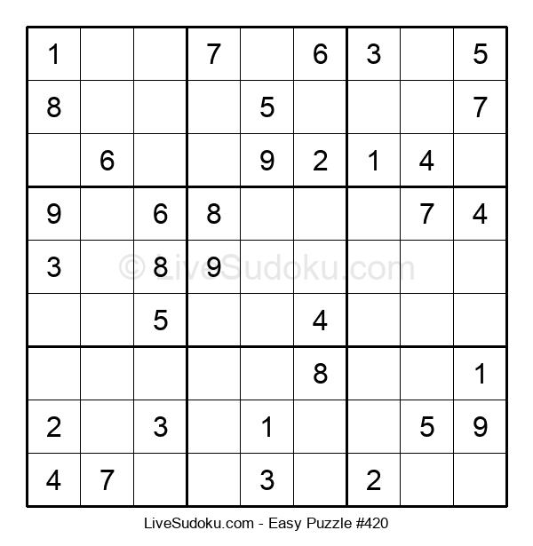 Beginners Puzzle #420