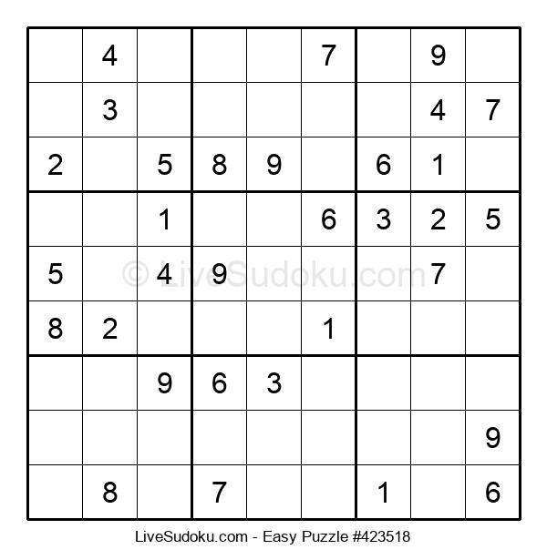 Beginners Puzzle #423518