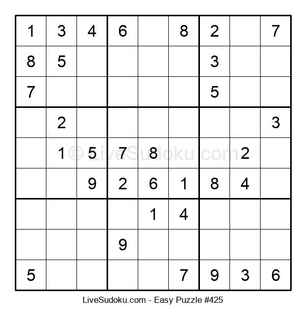 Beginners Puzzle #425