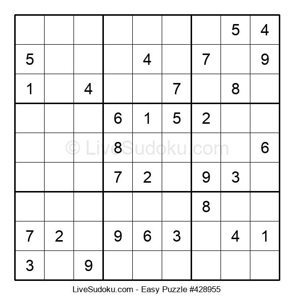 Beginners Puzzle #428955