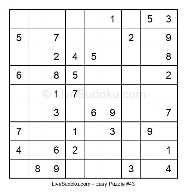 Beginners Puzzle #43