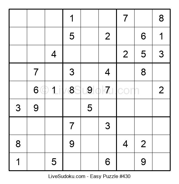 Beginners Puzzle #430