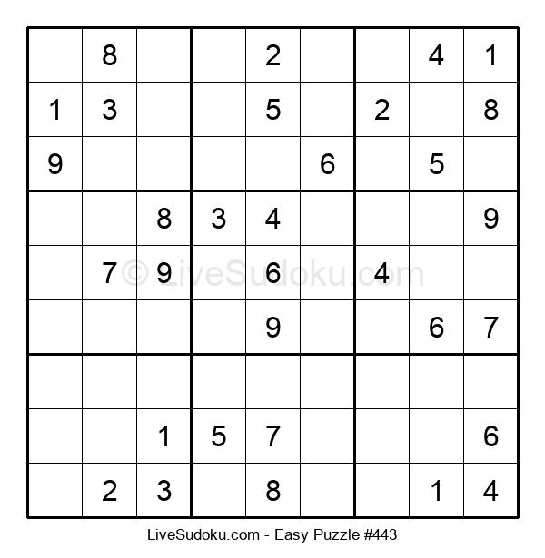 Beginners Puzzle #443