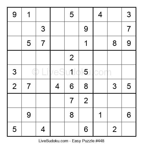 Beginners Puzzle #448