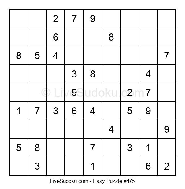 Beginners Puzzle #475