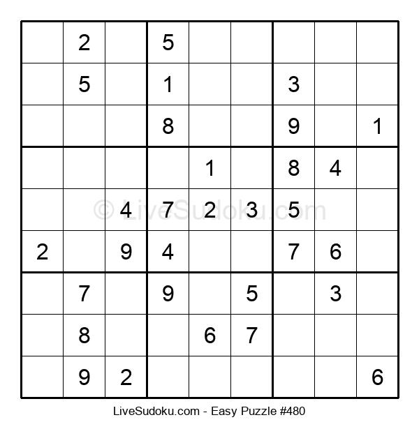 Beginners Puzzle #480