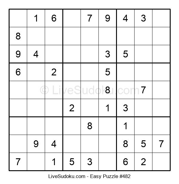 Beginners Puzzle #482