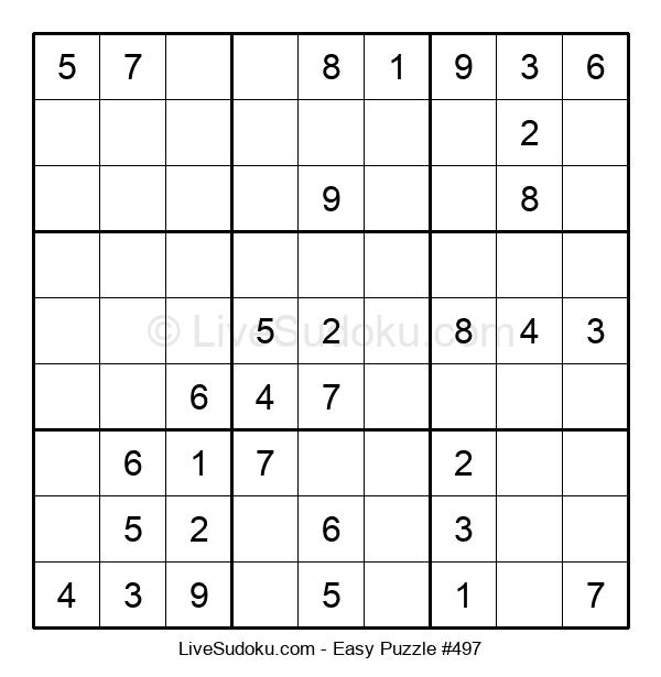 Beginners Puzzle #497