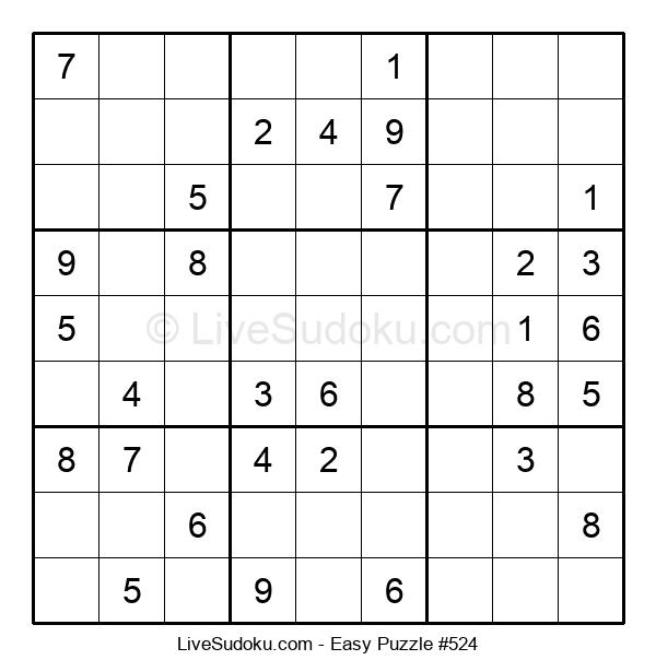 Beginners Puzzle #524