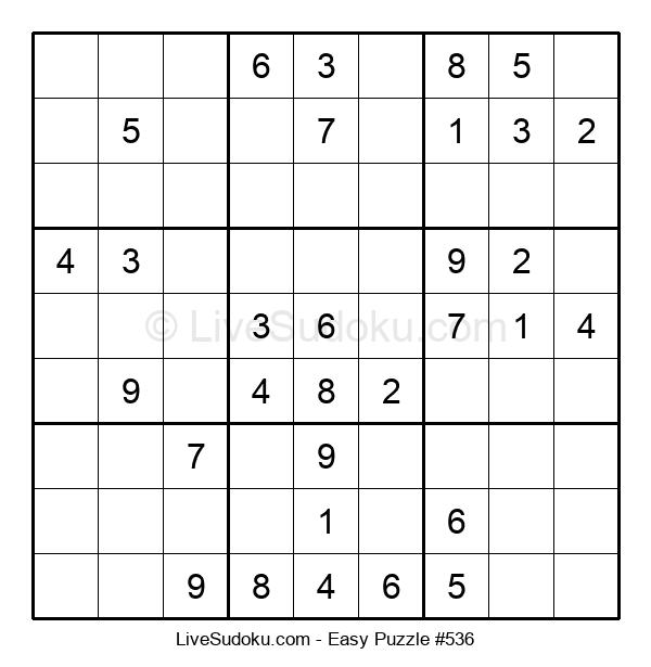 Beginners Puzzle #536