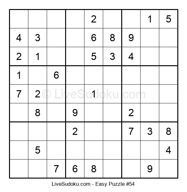 Beginners Puzzle #54