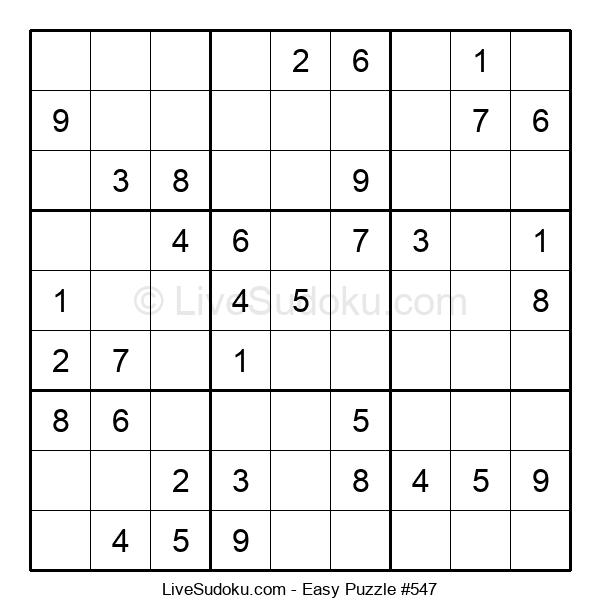 Beginners Puzzle #547