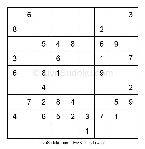 Beginners Puzzle #551
