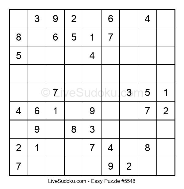 Beginners Puzzle #5548