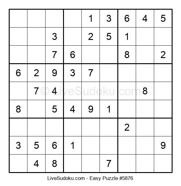 Beginners Puzzle #5876