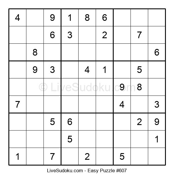 Beginners Puzzle #607