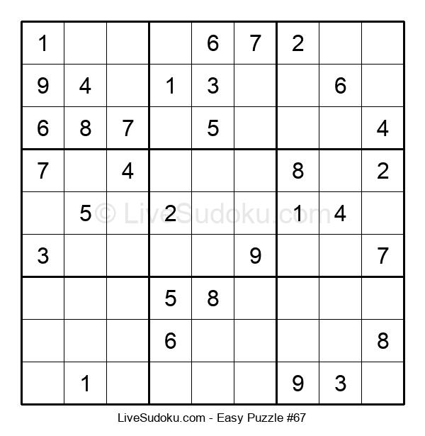 Beginners Puzzle #67