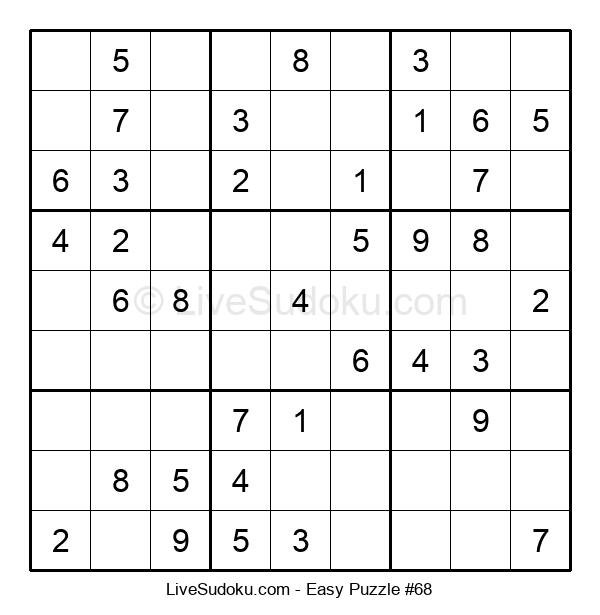 Beginners Puzzle #68