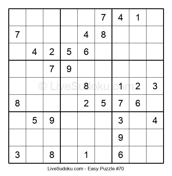 Beginners Puzzle #70