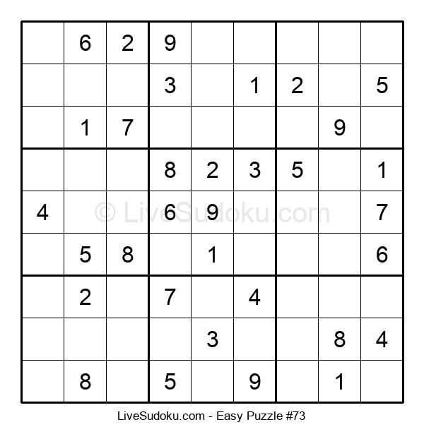 Beginners Puzzle #73