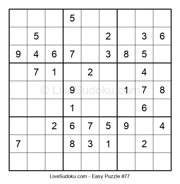 Beginners Puzzle #77