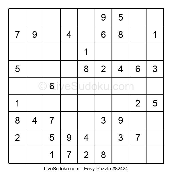 Beginners Puzzle #82424