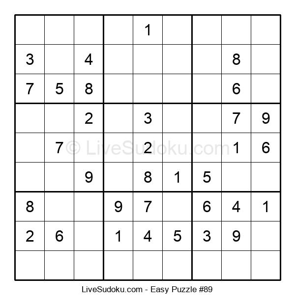 Beginners Puzzle #89