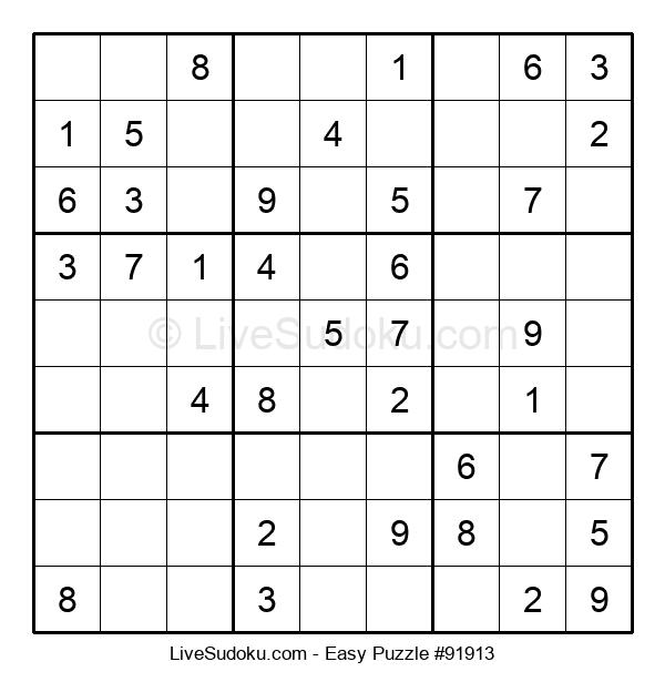 Beginners Puzzle #91913