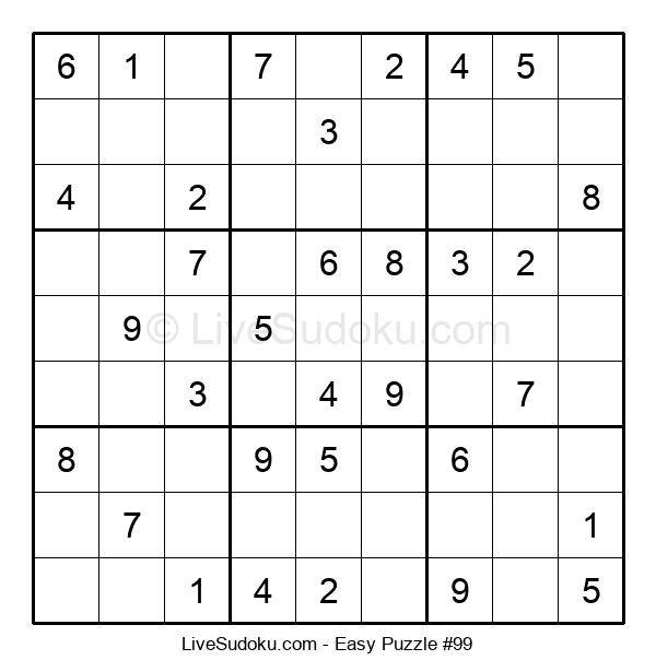 Beginners Puzzle #99