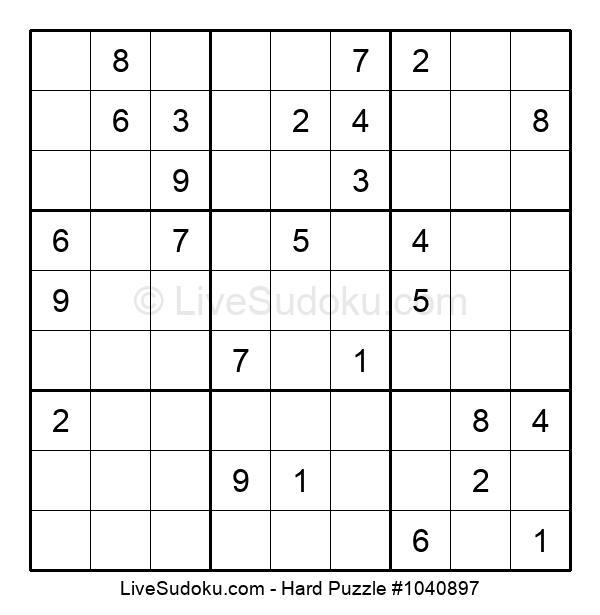 Hard Puzzle #1040897