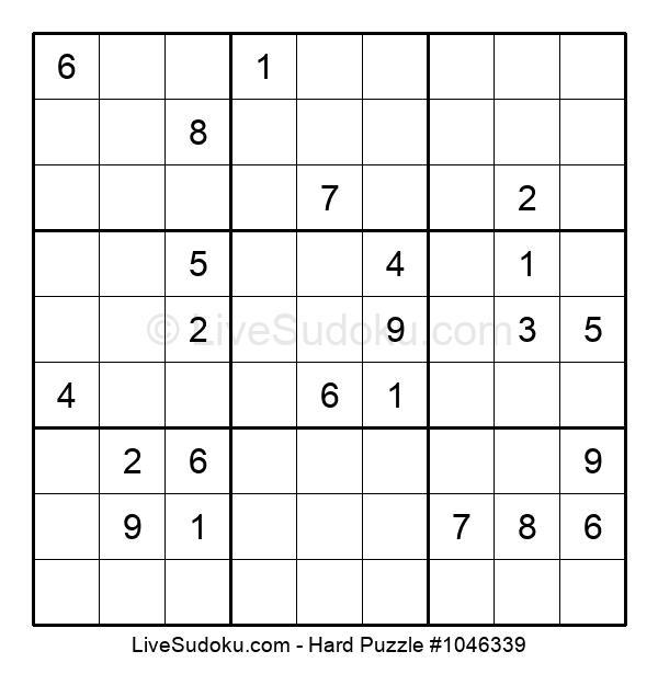 Hard Puzzle #1046339