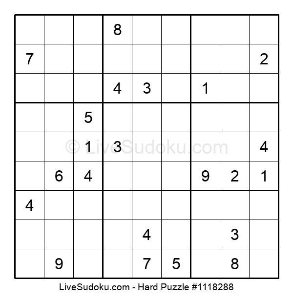 Hard Puzzle #1118288