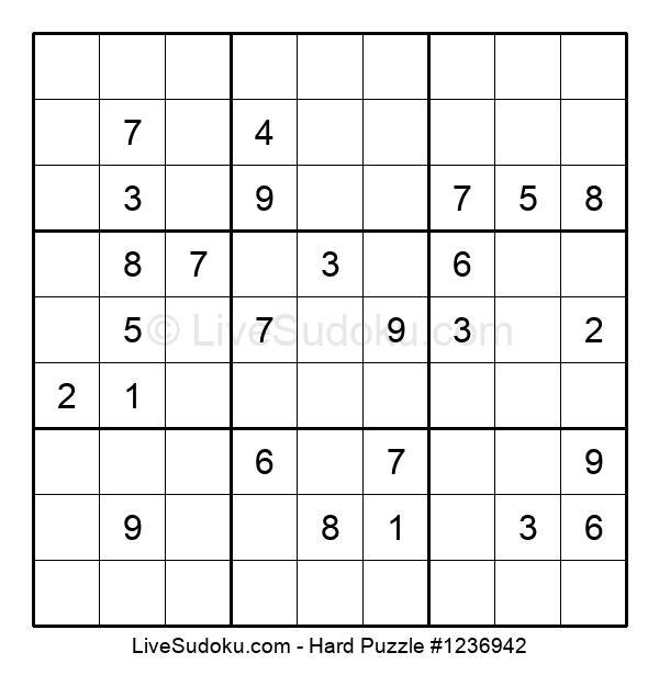 Hard Puzzle #1236942