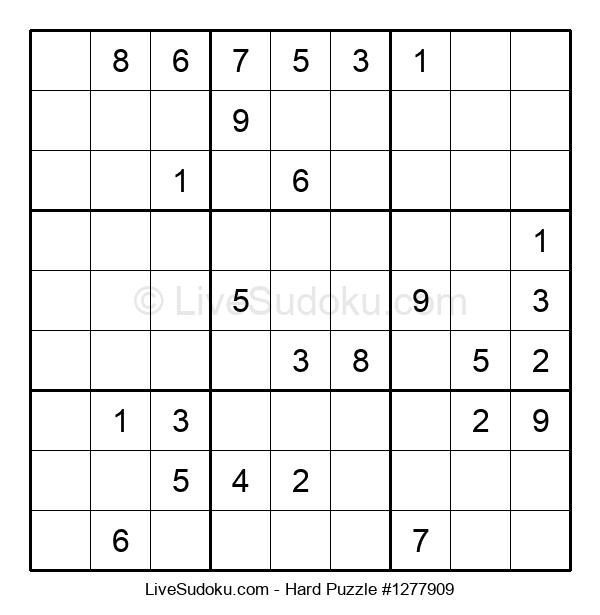 Hard Puzzle #1277909