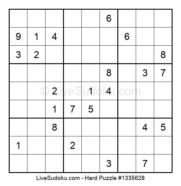 Hard Puzzle #1335628