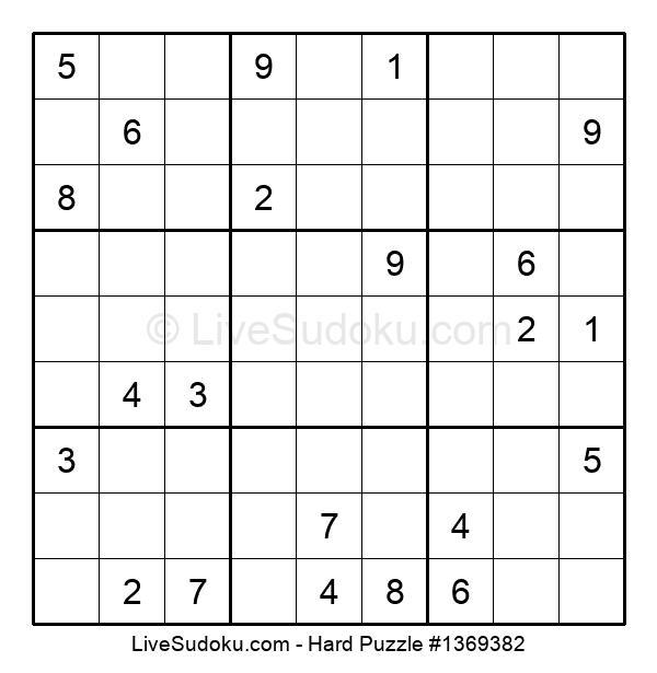 Hard Puzzle #1369382