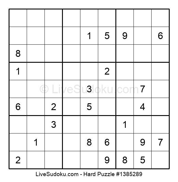 Hard Puzzle #1385289