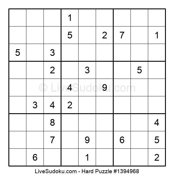 Hard Puzzle #1394968
