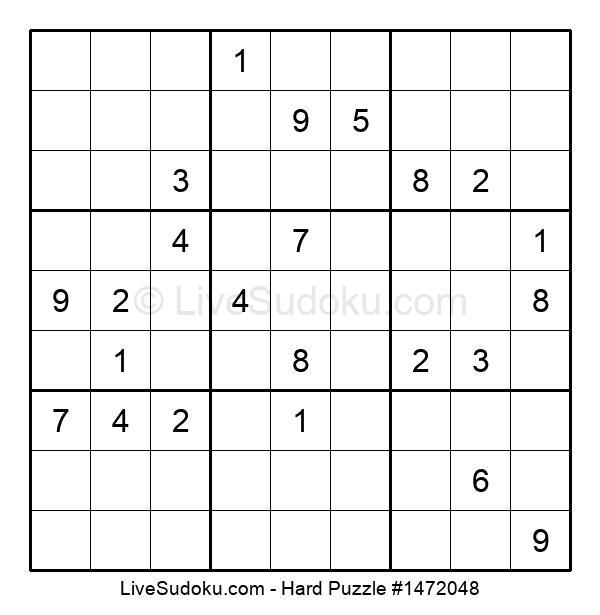 Hard Puzzle #1472048