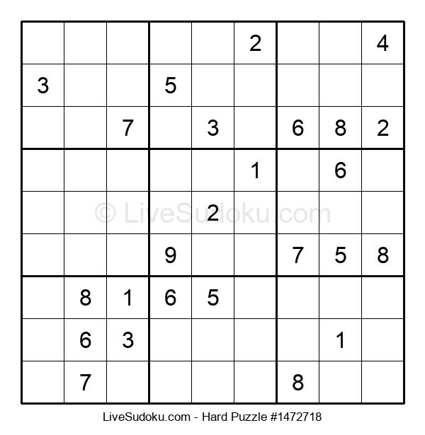 Hard Puzzle #1472718