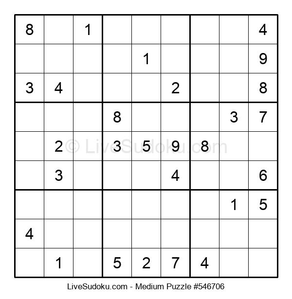 Medium Puzzle #546706