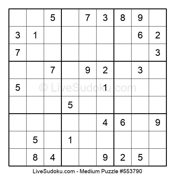Medium Puzzle #553790