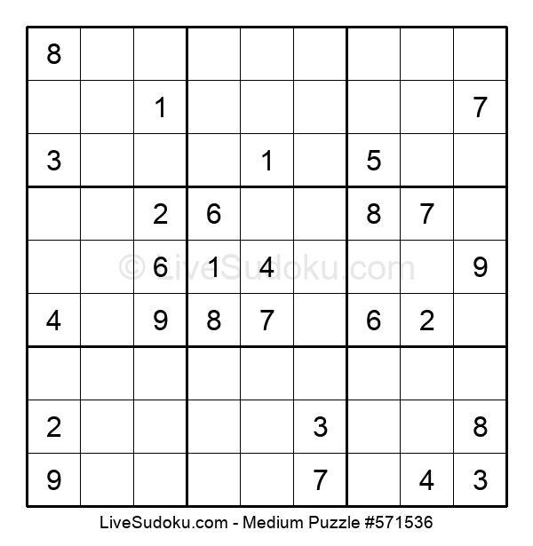 Medium Puzzle #571536