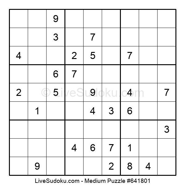 Medium Puzzle #641801