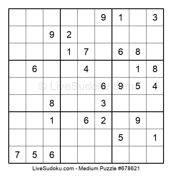 Medium Puzzle #678621
