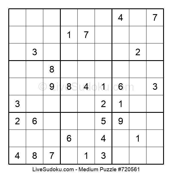 Medium Puzzle #720561