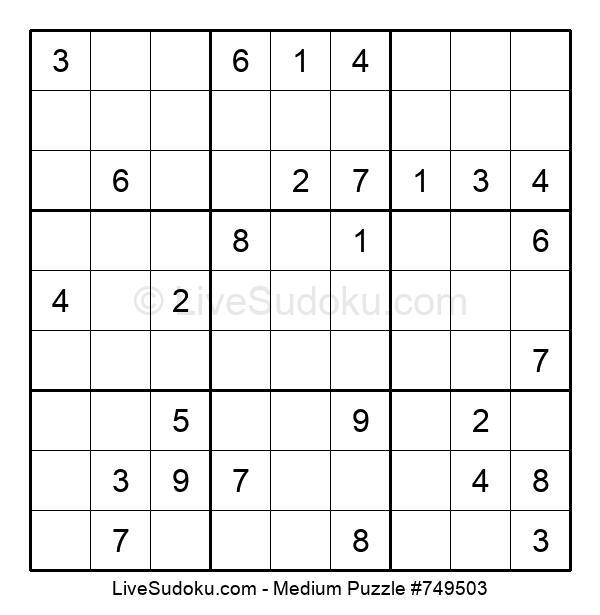 Medium Puzzle #749503