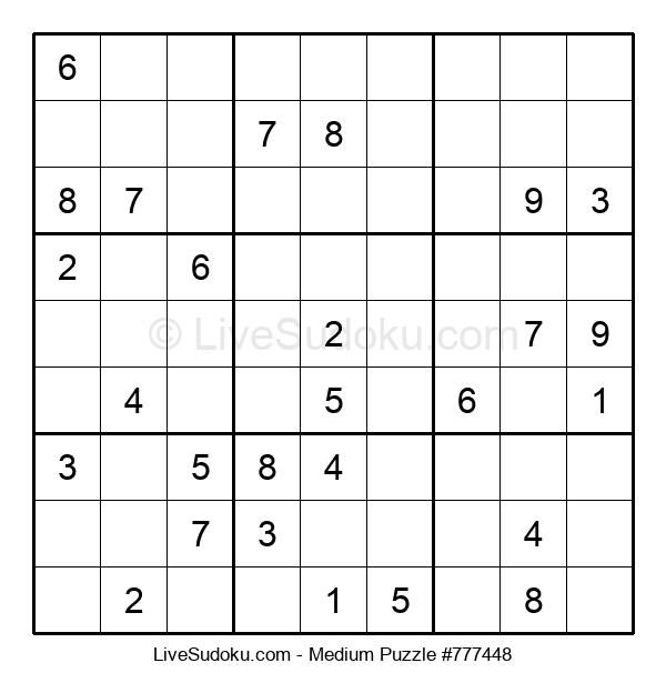 Medium Puzzle #777448