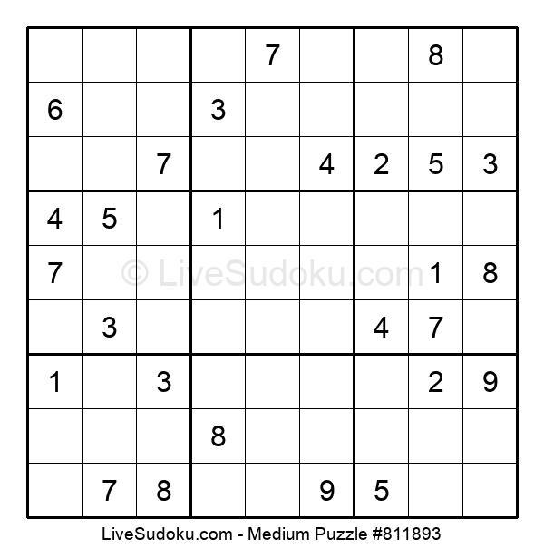 Medium Puzzle #811893
